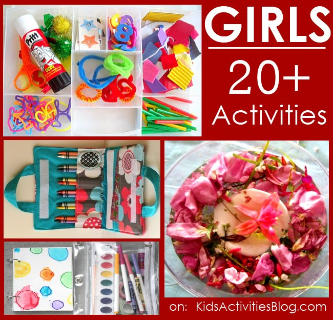 20+ Games and activities for every girl!