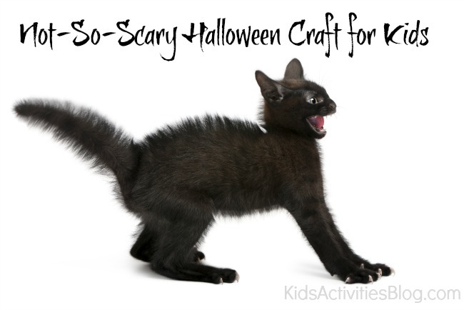 Not So Scary} Halloween Crafts for Kids