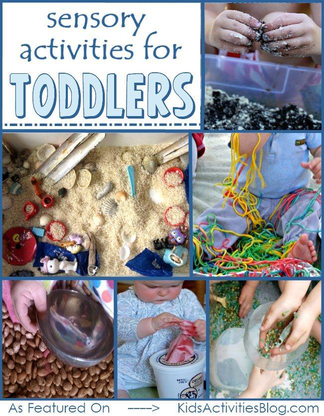 Une collection d'activités sensorielles pour un an