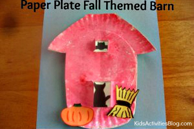 Fall Craft Red Barn