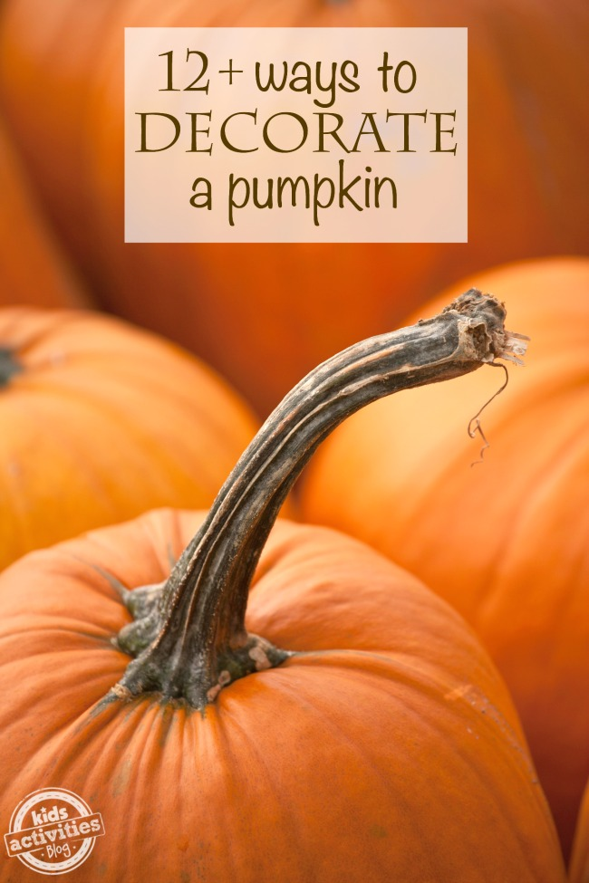 Decorate Pumpkin Lots Of Ideas