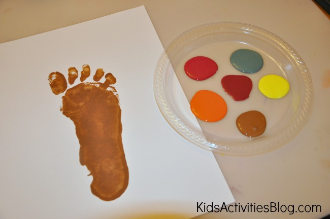 footprint art