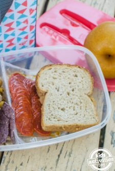 fun ideas for school lunch