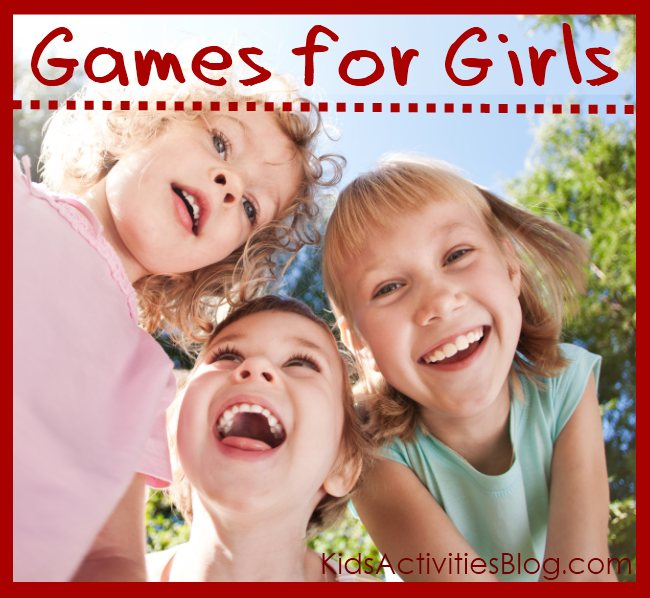 14 fun games for girls!