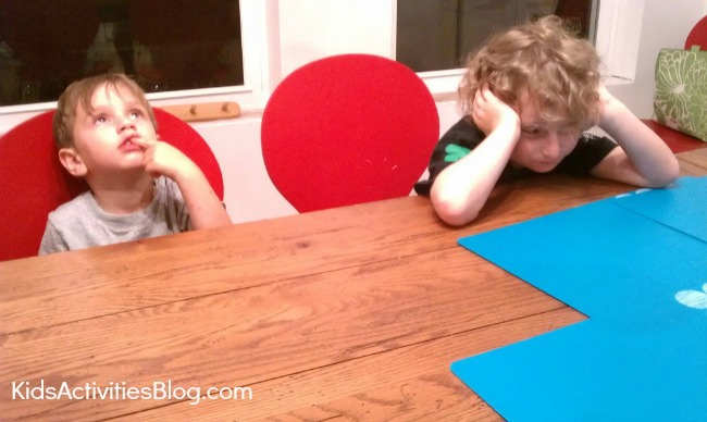 kids making own word game mad libs