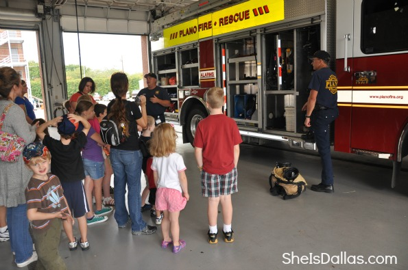 learning about firetrucks