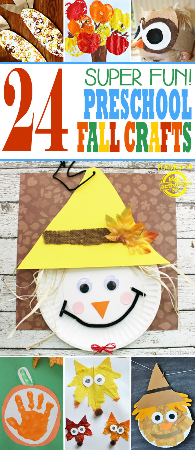 Autumn Themed Crafts Preschool