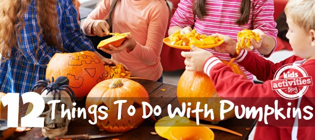12 things to do with pumpkins