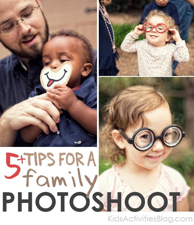5+ Tips for families to make the most out of a photo session