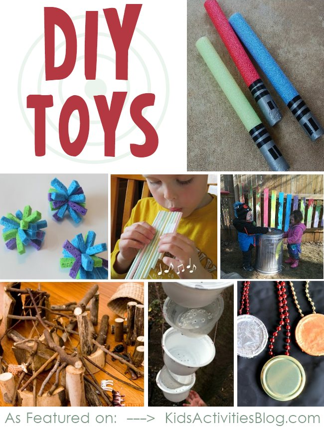 pool noodle toy Toys DIY for friends Christmas. their great kids  for the make to