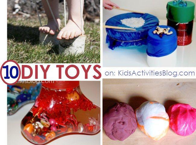 10 DIY homemade toy ideas to make for the kids this Christmas