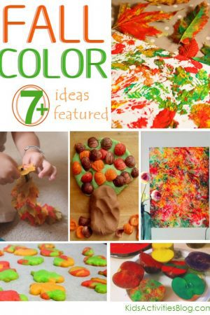 Kids activities celebrating fall Color