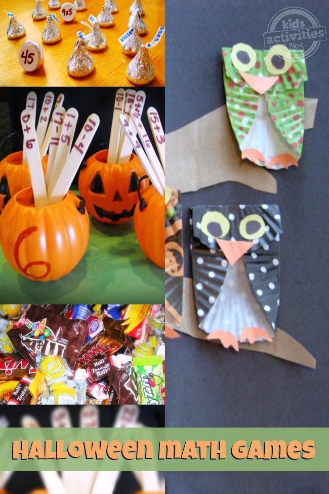 Halloween Math Games for Kids