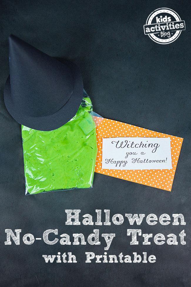 Halloween No-Candy Treat Idea