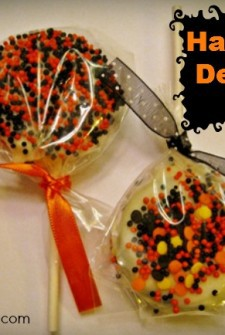 Halloween desserts feature