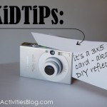 Photo Tip: use a 3x5 card to bounce the light. Your pictures will be sweet