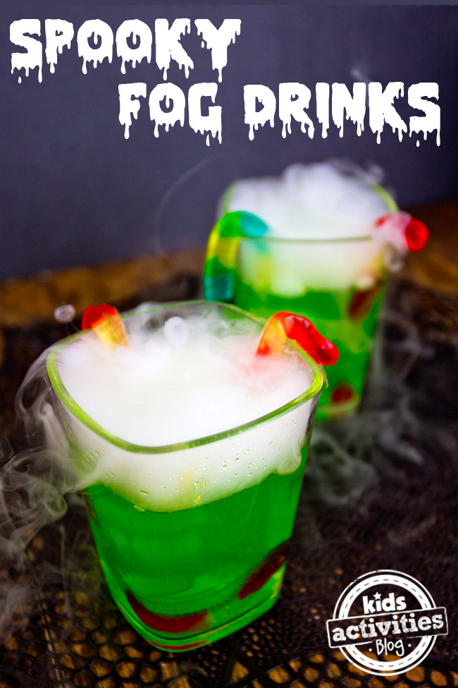 Spooky Halloween Party Drink