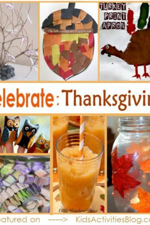 Activities for kids to celebrate and cultivate thanksgiving