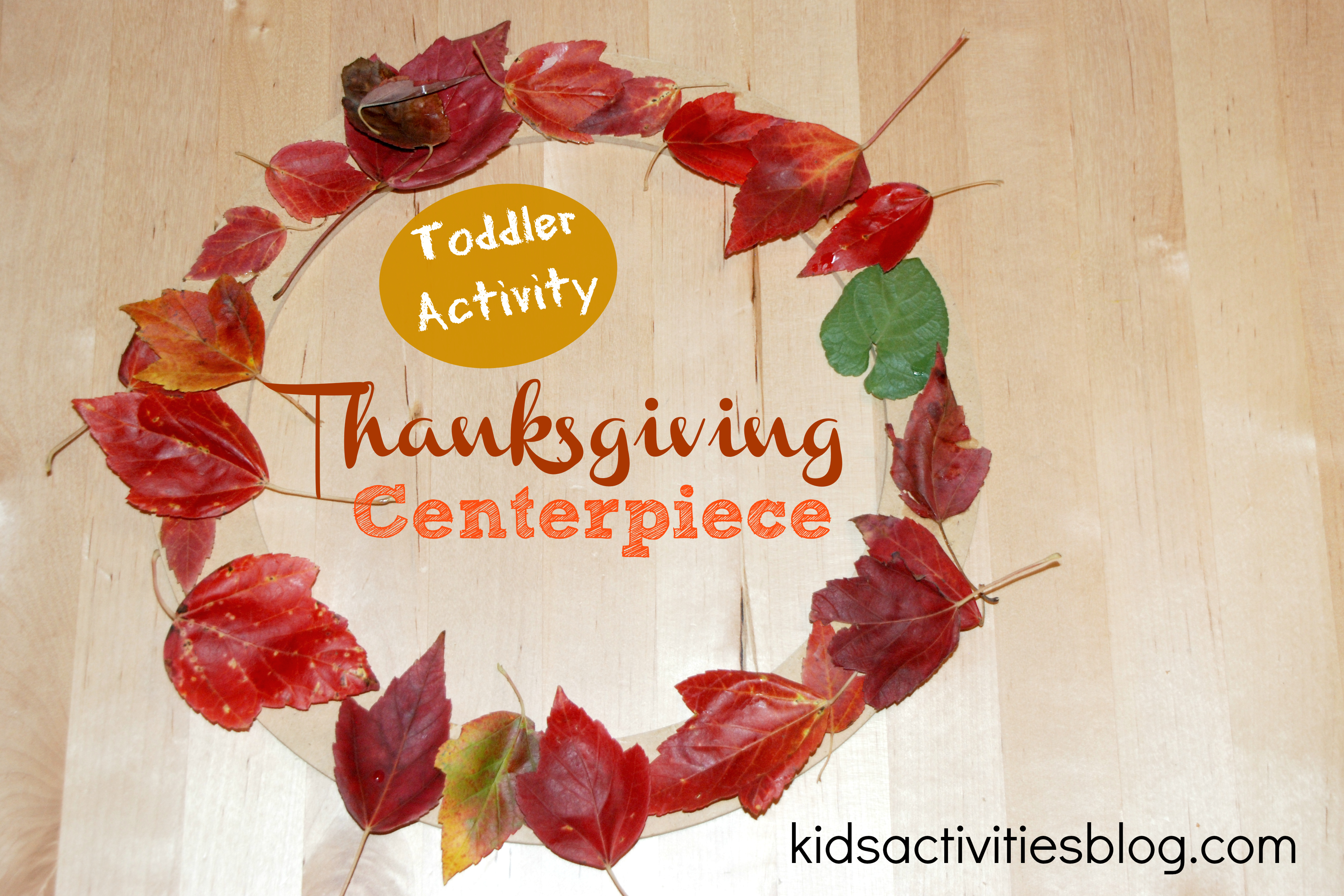 Cute Thanksgiving Craft For Toddlers