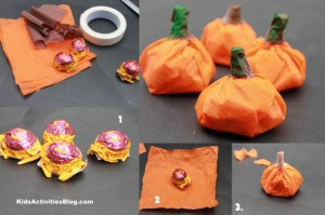 How to make a pumpkin