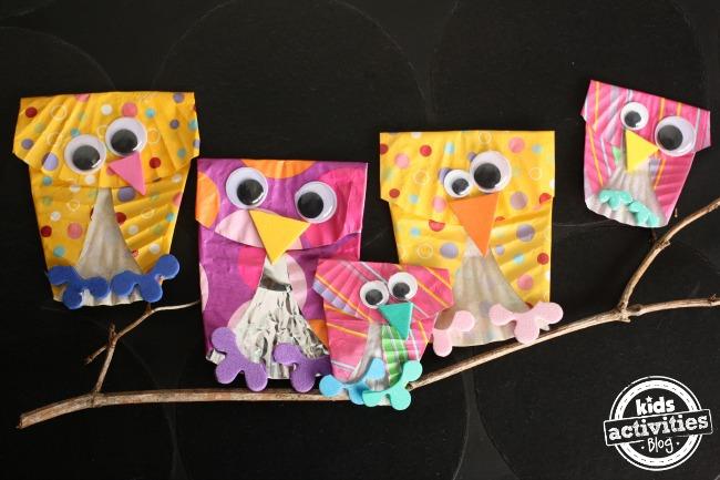 cupcake owls