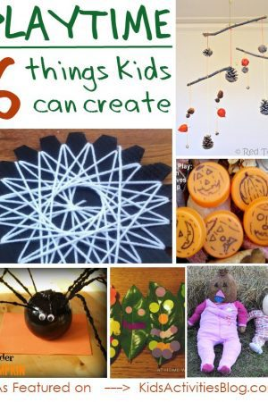 simple fall crafts that kids can create