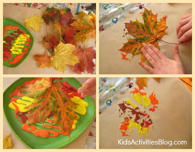 Fall Color Makes Beautiful Fall Crafts