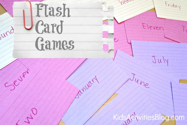 online flash card games