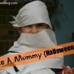halloween game make a mummy