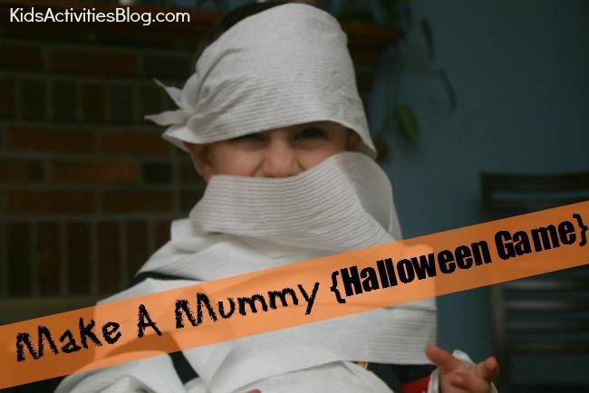 Halloween Game Halloween Fun With A Mummy Game Kids