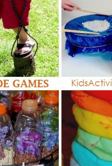 bunches of homemade toys your kids can make