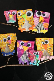 Owl Craft for Skip Counting