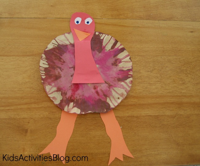 Gobble gobble a thanksgiving preschool craft for Thanksgiving craft ideas for kindergarten