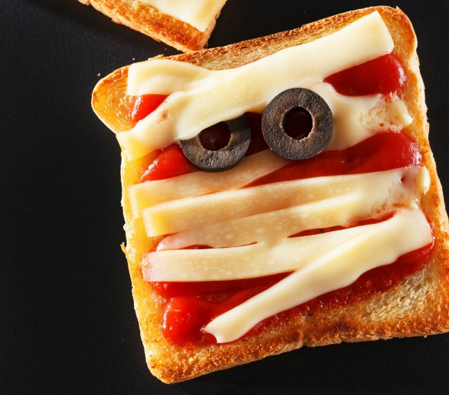 mummy sandwich