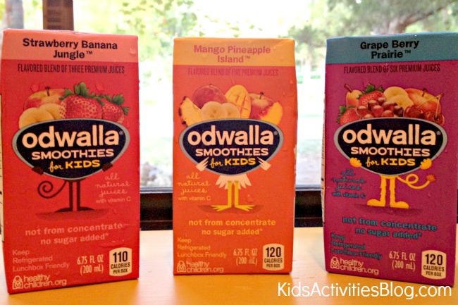 Odwalla Smoothies for kids