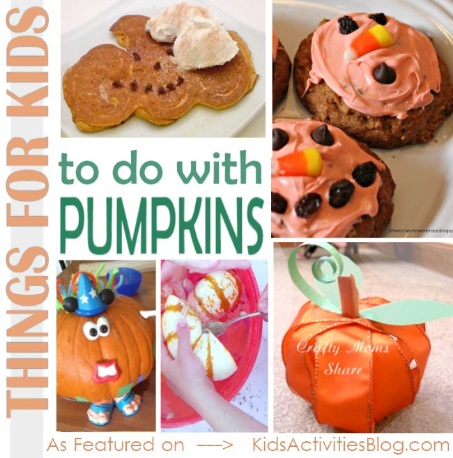 things for kids to do with pumpkins