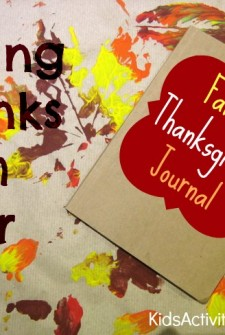 Thanksgiving Activity: {Create) a Family Journal