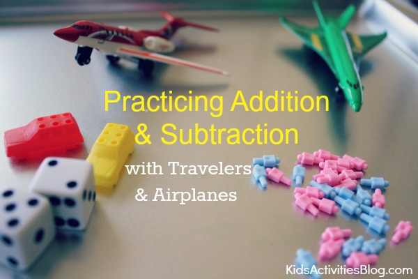 traveling math:  A game for kids to play during road trips
