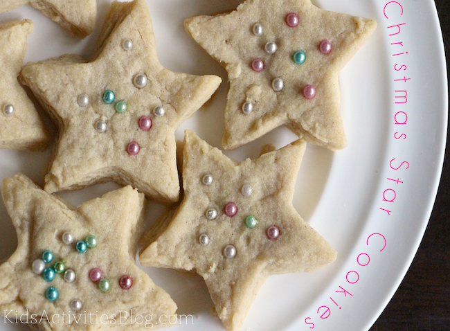 Christmas Cookie Recipe Star Cookies