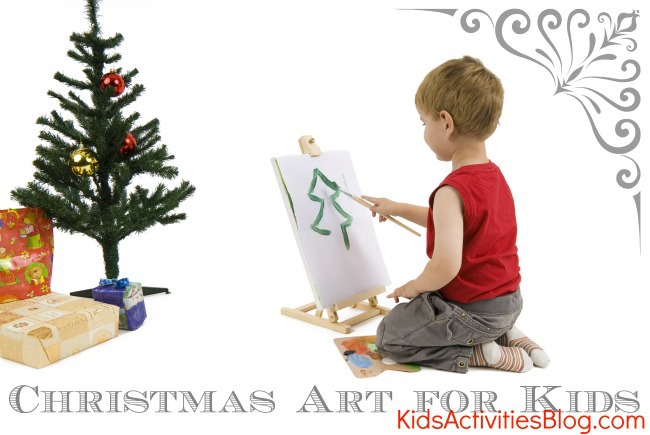 Christmas art for kids