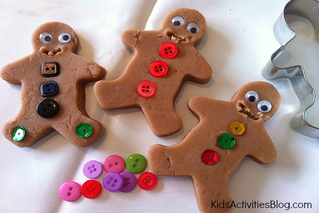 We created so many of these sweet little gingerbread men and each one ...