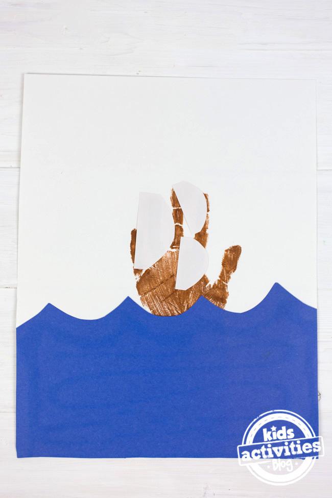 Handprint Pilgrim Ship