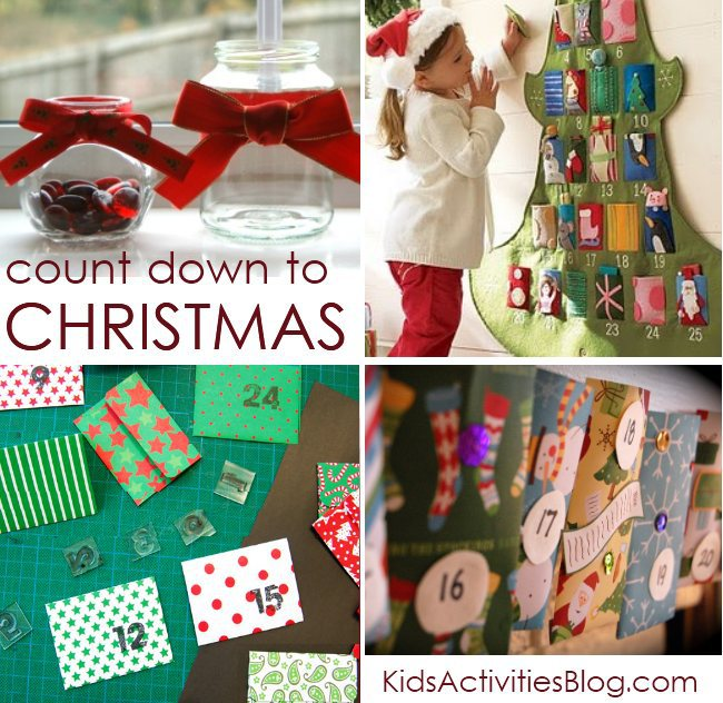 Christmas advent calendar ideas for kids