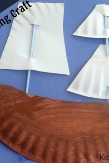 Paper Boat: {Easy} Thanksgiving Craft