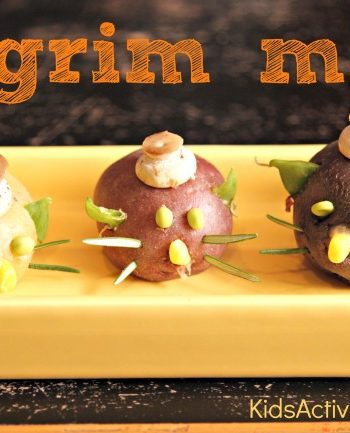 Thanksgiving pilgrim mice