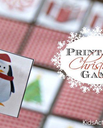 printable Christmas Game
