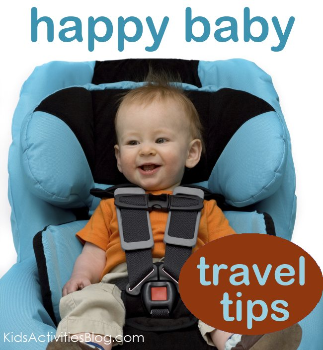 traveling baby:  Tips to keep them happy