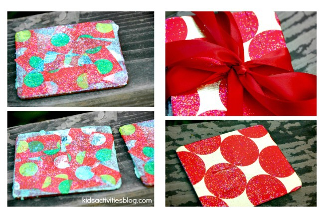 Christmas Craft for kids makes homemade gift