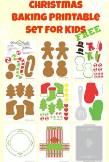 Christmas printables for kids featured on Kids Activities Blog