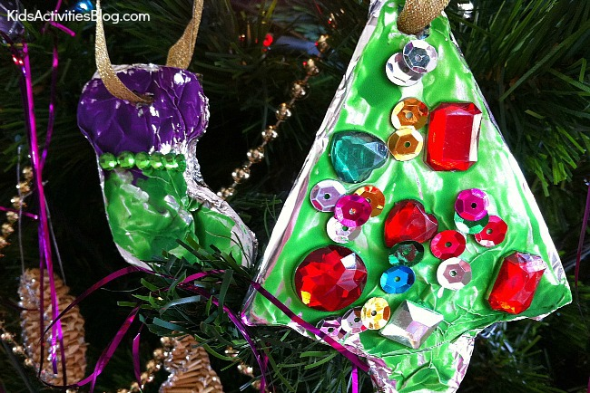 DIY ornaments Christmas activity